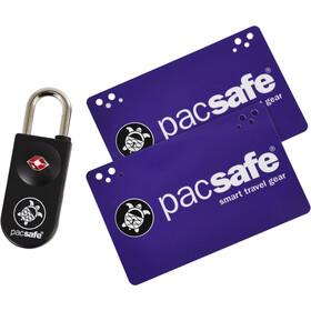 Pacsafe Prosafe 750 Cadenas à carte homologué TSA, black